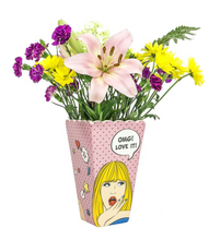 Load image into Gallery viewer, Pop Art Flower Vase