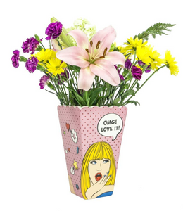 Pop Art Flower Vase