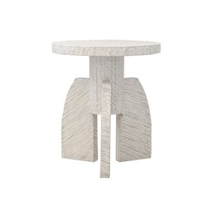 White-Washed Side Table