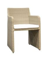 OUTDOOR DINING CHAIR, WICKER