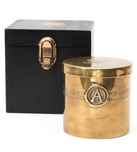 Load image into Gallery viewer, Antica Farmacista: Oversized Three-wick Brass Candle