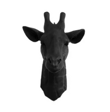Load image into Gallery viewer, Large Giraffe Head Faux Taxidermy