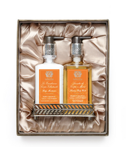 Antica Farmacista, BATH & BODY GIFT SET: ORANGE BLOSSOM, LILAC & JASMINE