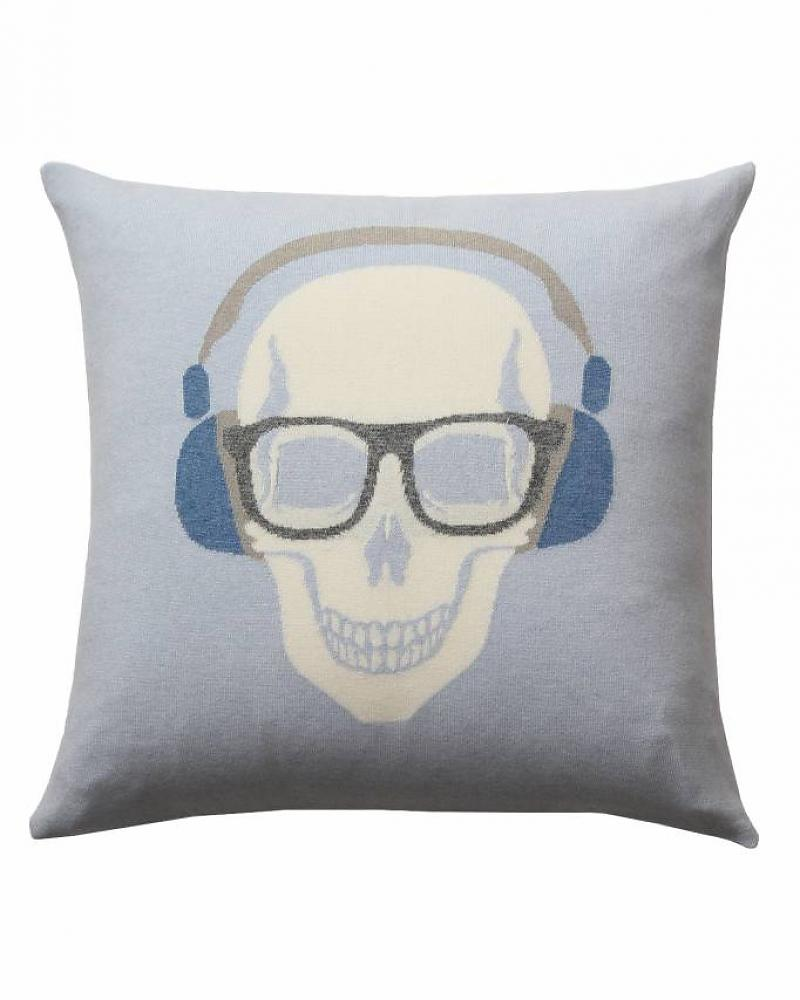 SKULL HEADPHONES PILLOW: 21