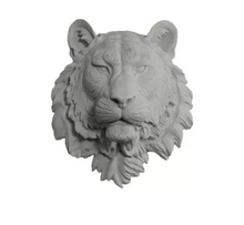Load image into Gallery viewer, Large Tiger Head Faux Taxidermy