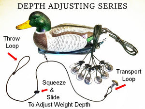 Recon Rig Depth Adjusting Series - GREEN Line