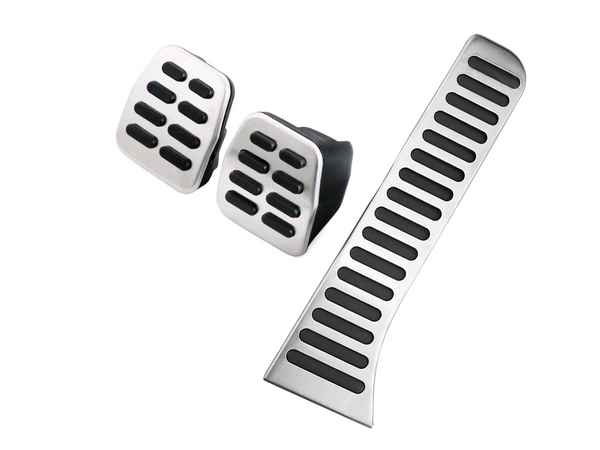 VW Caddy 2k Stainless Steel Pedal Covers