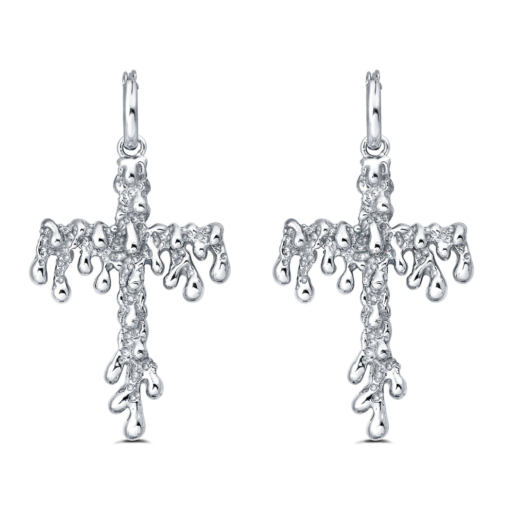 The Nar Cross Earrings