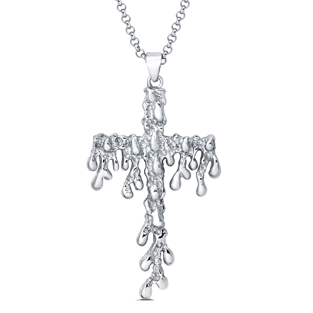 The Nar Large Cross Pendant (w/ Chain)