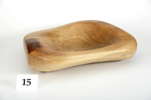 Walnut bowl no. 15