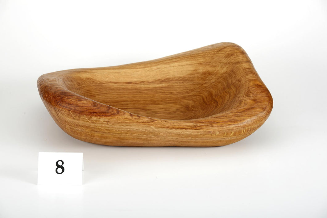 Oak bowl no. 08