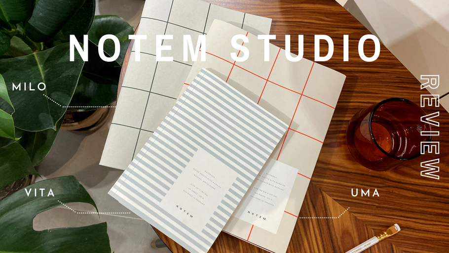 Scandinavian Design | Notem Studio Notebook Collection Review