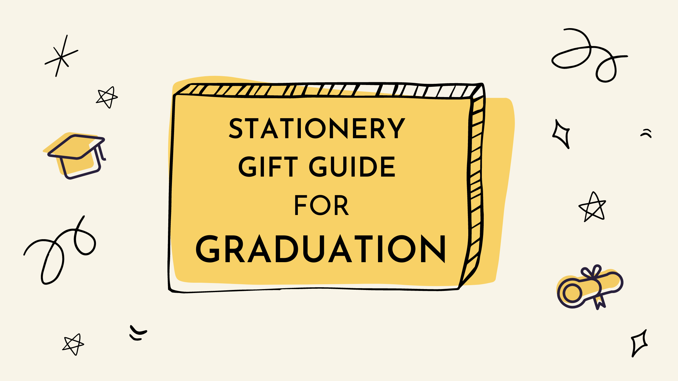 Stationery Gift Guide Graduation Paper & Cards Studio HK
