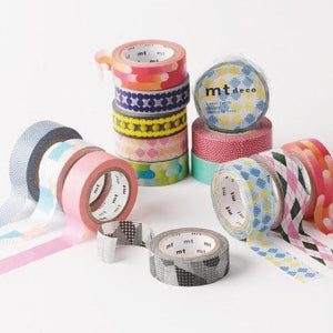 mt Deco Series Masking Tape | Paper & Cards Studio
