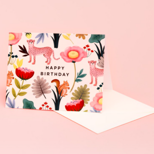 Animal Kingdom Birthday - Cream | Paper & Cards Studio