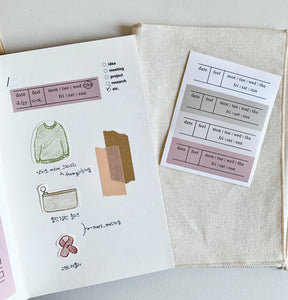 Daily Diary Sticker | Paper & Cards Studio