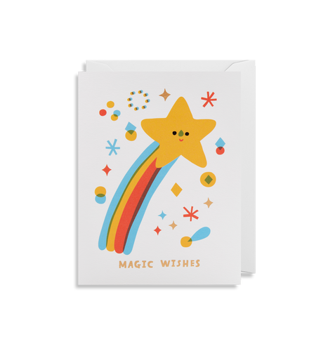Magic Wishes Mini Card | Paper & Cards Studio