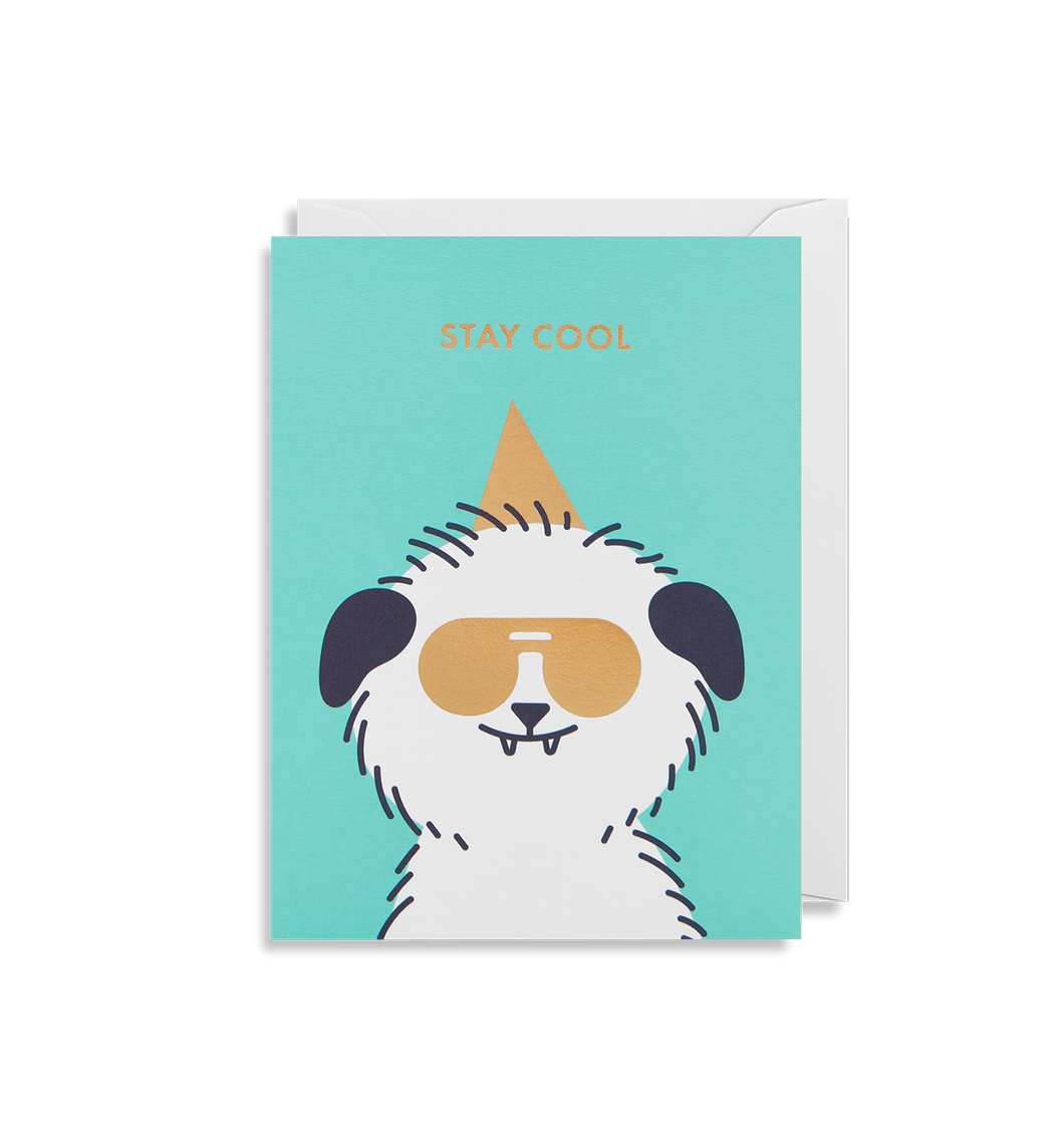Stay Cool Mini Card | Paper & Cards Studio
