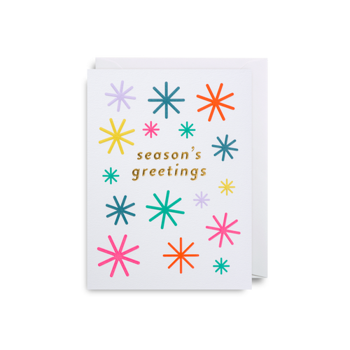 Season's Greetings Mini Card