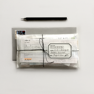 Address Label with Pen Design | Paper & Cards Studio
