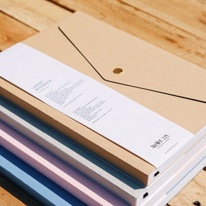 Kraft Notebook Pliage | Paper & Cards Studio