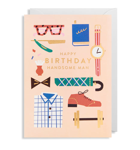 Handsome Birthday Card | Paper & Cards Studio
