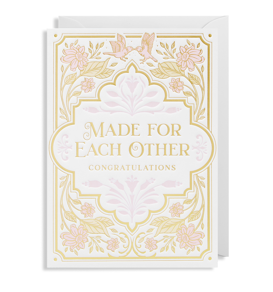 Made For Each Other Card | Paper & Cards Studio
