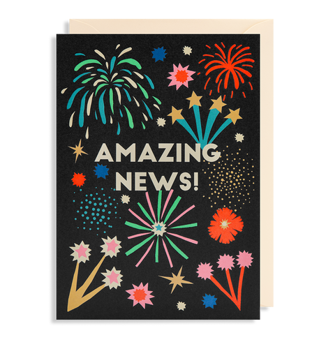 Amazing News Card | Paper & Cards Studio