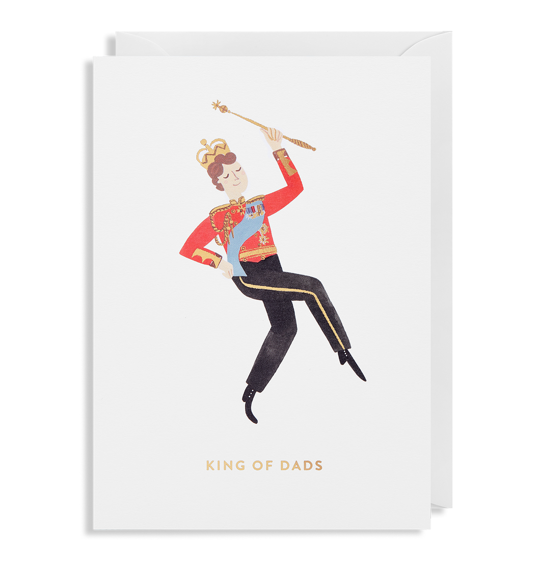King of Dads Card | Paper & Cards Studio