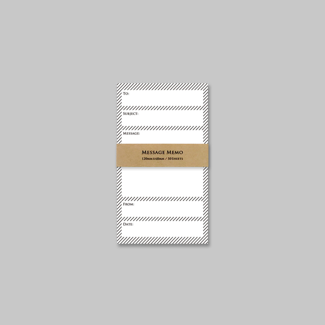 Message Memo Pad | Paper & Cards Studio