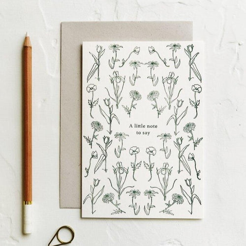 A Little Note To Say | Paper & Cards Studio