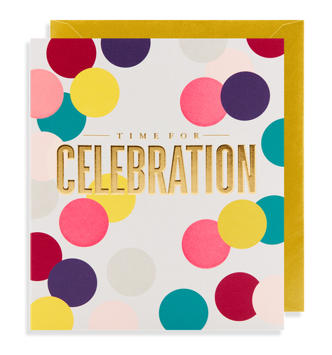 Time for Celebration Card