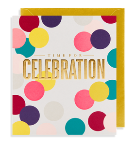 Time for Celebration Card | Paper & Cards Studio