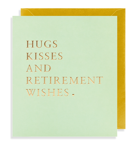 Retirement Wishes Card | Paper & Cards Studio
