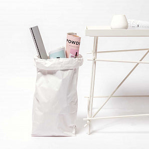 Medium White Block Bottom Bag | Paper & Cards Studio