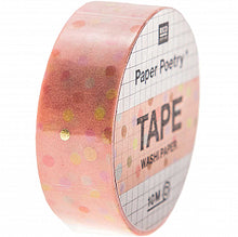 Load image into Gallery viewer, Pink Dots Tape | Paper & Cards Studio
