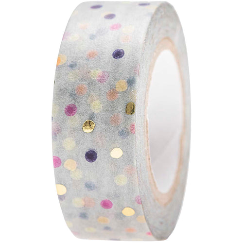 Blue Dots Crafted Tape