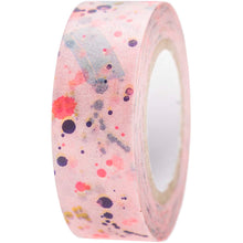 Load image into Gallery viewer, Pink Spotted Crafted Tape | Paper & Cards Studio