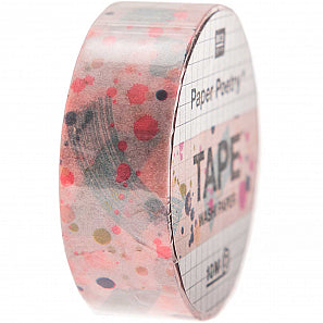 Pink Spotted Crafted Tape | Paper & Cards Studio