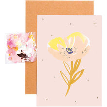 Load image into Gallery viewer, Pink Crafted DIY Card | Paper & Cards Studio
