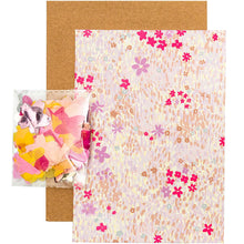 Load image into Gallery viewer, Pink Flower DIY Card | Paper & Cards Studio