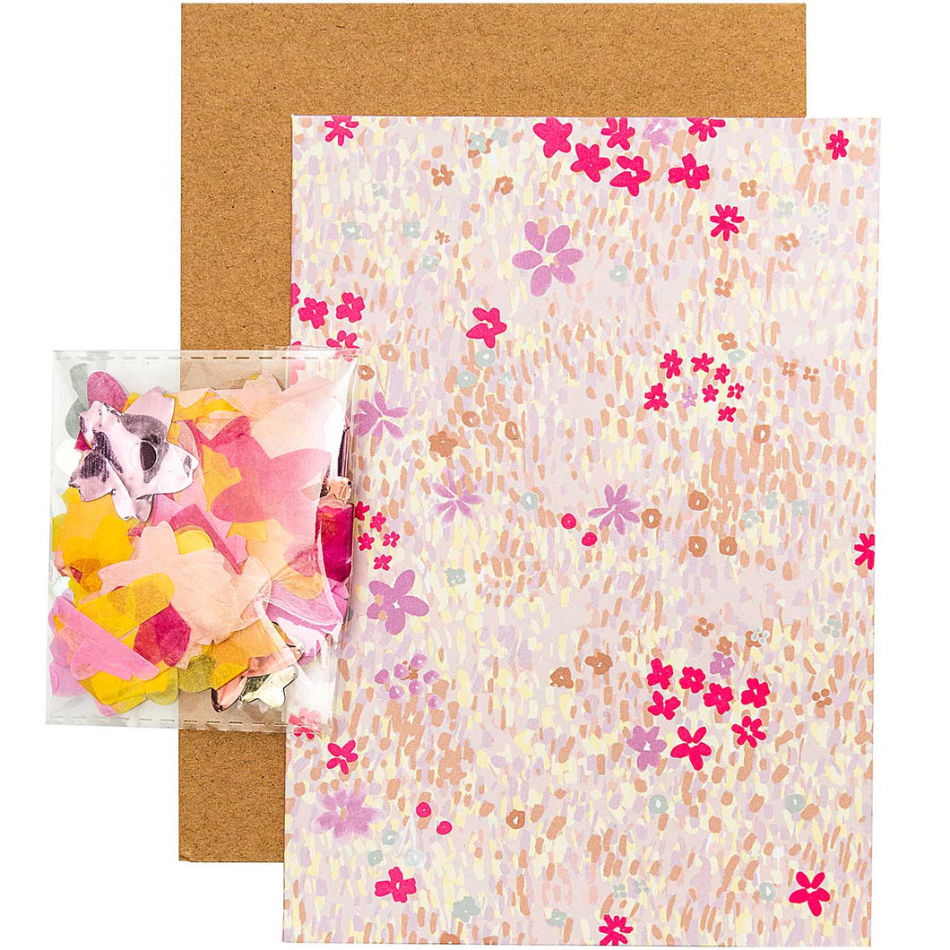 Pink Flower DIY Card | Paper & Cards Studio