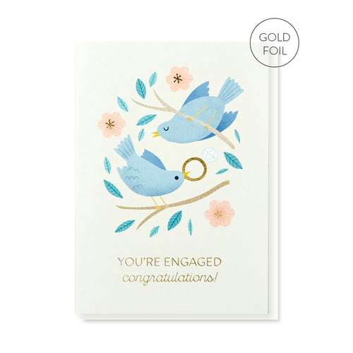 Engaged Birds | Paper & Cards Studio