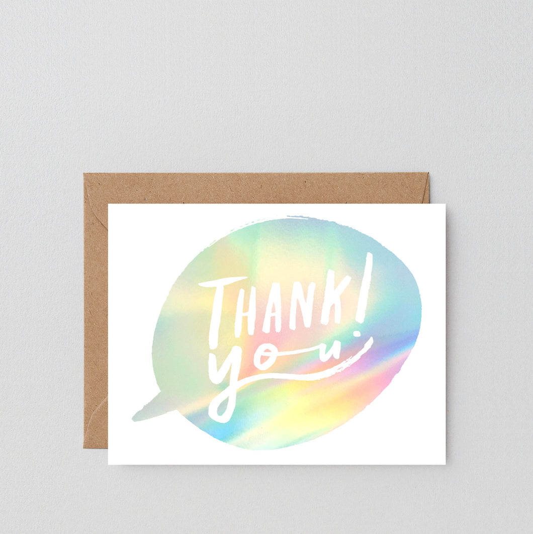 Thank You Bubble | Paper & Cards Studio