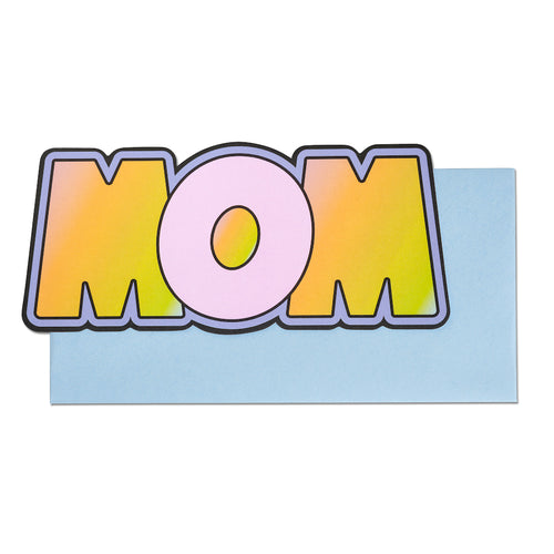 WOW / MOM Reversible Card | Paper & Cards Studio