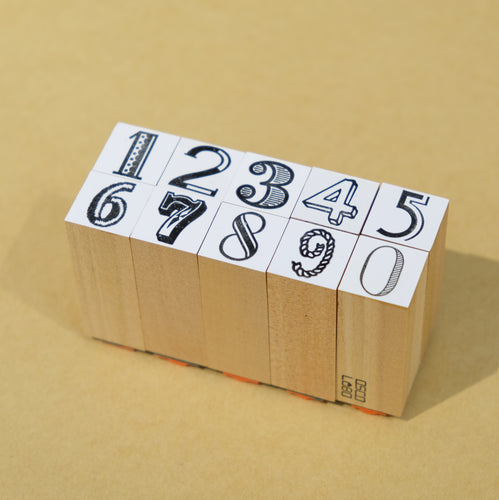 Numbers Stamp | Paper & Cards Studio