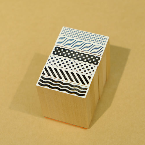 Wide Tape Stamps | Paper & Cards Studio