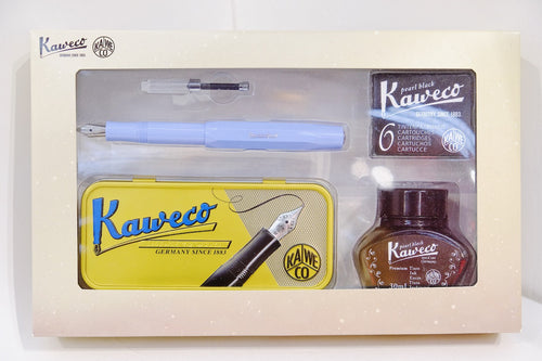 Kaweco Fountain Pen - Serenity Blue Box Set | Paper & Cards Studio