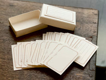 Load image into Gallery viewer, Letterpress Frame Card Box | Paper & Cards Studio