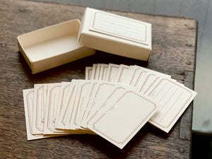 Letterpress Frame Card Box | Paper & Cards Studio